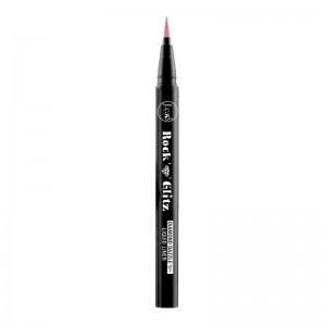 J.Cat - Flüssiger Eyeliner - Rock N Glitz Diamond Dazzle Liquid Liner - Rosy Glam