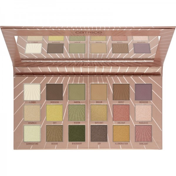 Catrice - Tansation - Sunshine Heat Me Up 18 Colour Eyeshadow Palette Neutral Tones