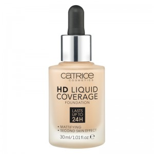 Catrice - Foundation - HD Liquid Coverage Foundation - 030 Sand Beige
