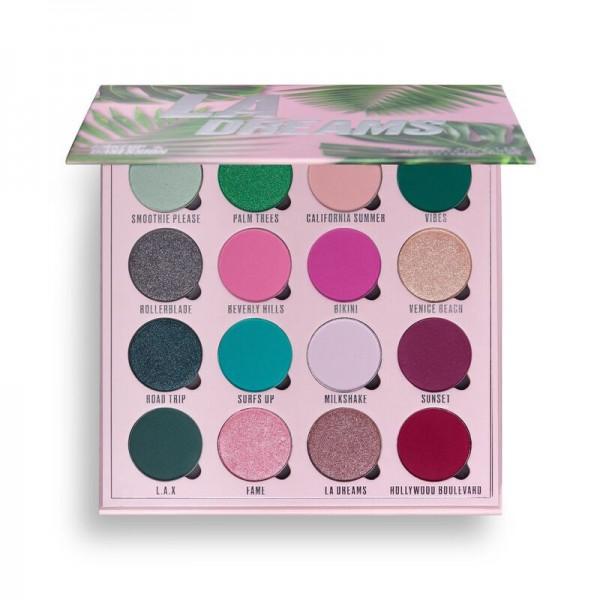 Makeup Obsession - Lidschattenpalette - LA Dreams Shadow Palette
