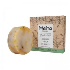 Meina Naturkosmetik - Hais Soap mit Rosmarin, Teebaum & Lavendel - Scaly & greasy hair