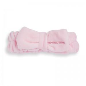 Revolution - Haarband - Skincare Pink Bow Headband