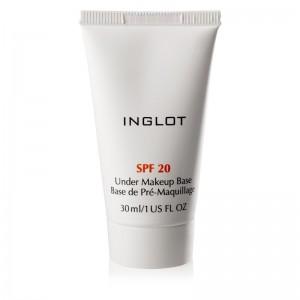 INGLOT - Face Primer - Under Makeup Base SPF 20