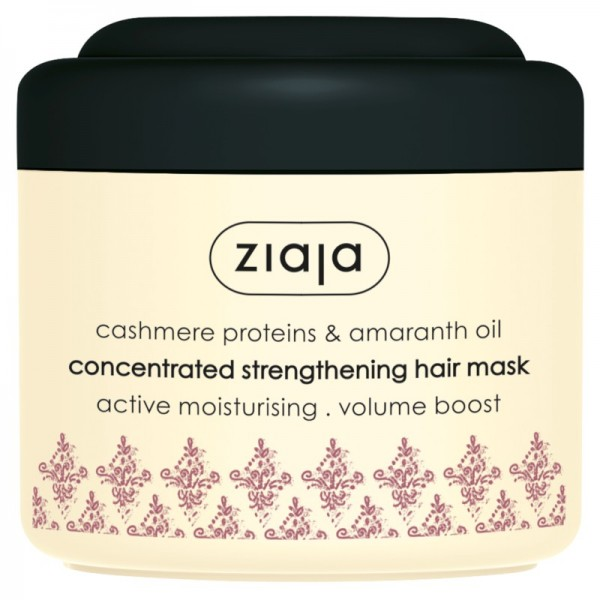 Ziaja - Cashmere Proteins & Amaranth Oil Concentrated Strengthening Hair Mask