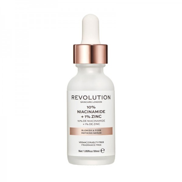 Revolution - Skincare Blemish and Pore Refining Serum - 10% Niacinamide + 1% Zinc