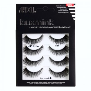 Ardell - False Eyelashes - Faux Mink - 811 - 4er Pack