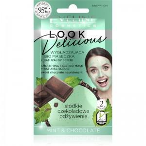 Eveline Cosmetics - Gesichtsmaske - Look Delicious Face Mask Sweet Chocolate Nourishment