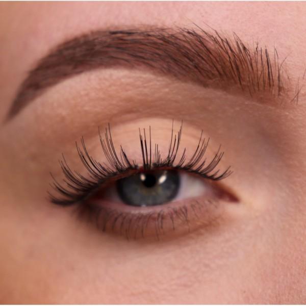 lenilash - False Eyelashes - Black - Human Hair - Nr.139