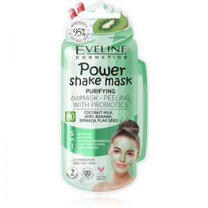 Eveline Cosmetics - Gesichtsmaske - Power Shake mask Purifying