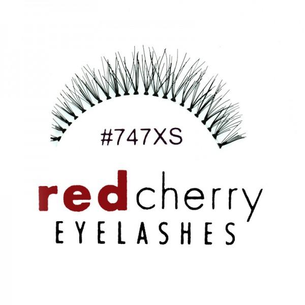 Red Cherry - False Eyelashes Nr. 747XS Branson - Human Hair