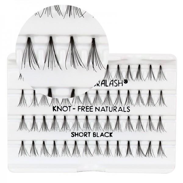 Ardell - Single Eyelashes - Flares - Knot Free - Short Black - Ca.8mm
