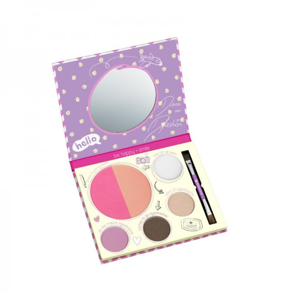 essence - Lidschatten & Eyeliner Palette - bloggers' beauty secrets touch up to go one-for-all palet