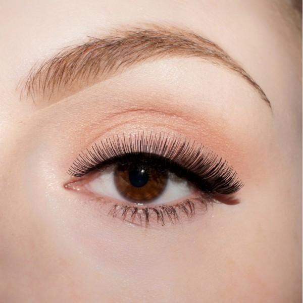lenilash - False Eyelashes - Black - Human Hair - Nr.141