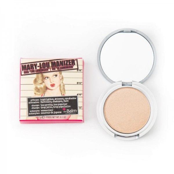 The Balm - Highlighter - Mary-Lou Manizer Travel Size