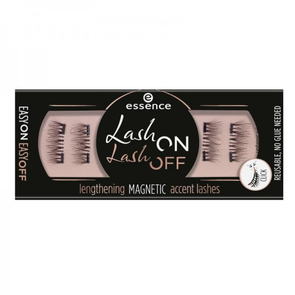essence - Falsche Magnetwimpern - lash on lash off lengthening magnetic accent lashes 02