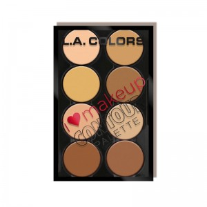 LA Colors - Konturpalette - I Heart Makeup Contour - Light-Medium