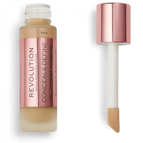 Makeup Revolution - Foundation - Conceal & Define Foundation F8.5