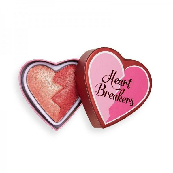 I Heart Revolution - Rouge - Heartbreakers Shimmer Blush - Strong