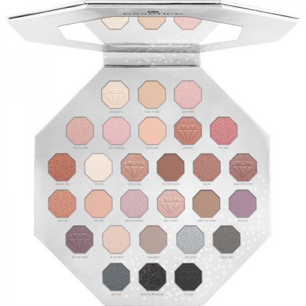 essence - supreme party eyeshadow palette - Smokey & Nude