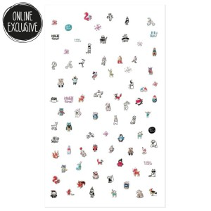 essence - onlineexclusive - let it snow! nail stickers 01