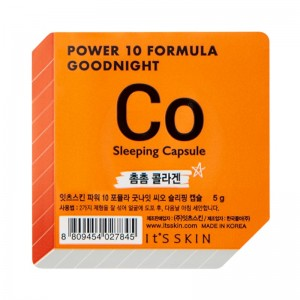 Its Skin - Gesichtsmaske - Power 10 Formula Goodnight Sleeping Capsule CO
