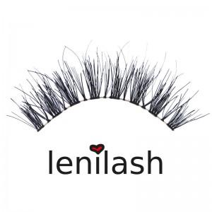 lenilash - Falsche Wimpern - Echthaar - 128