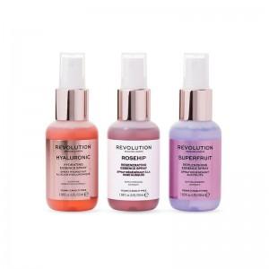 Revolution -  Gesichtsspray Set - Skincare Mini Essence Spray Collection - Hello Hydration