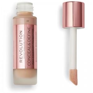 Makeup Revolution - Conceal & Define Foundation F7