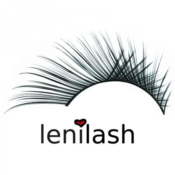 lenilash - False Eyelashes - Black - Human Hair - Nr.113
