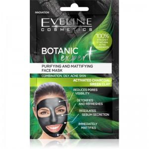 Eveline Cosmetics - Gesichtsmaske - Botanic Expert reinigende & mattierende Gesichtsmaske