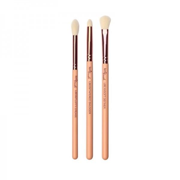 lenibrush - Kosmetikpinselset - Sweet Eyeshadow Blending Set - The Nudes Edition