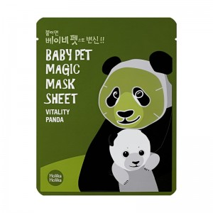 Holika Holika - Baby Pet Magic Mask Sheet - Panda