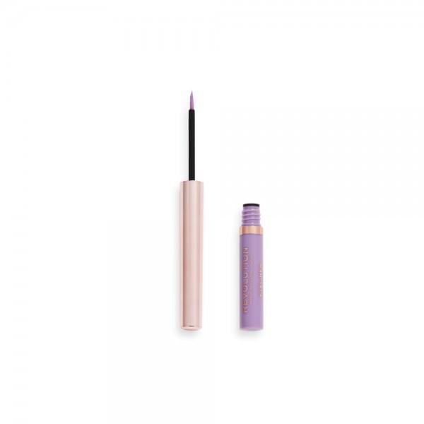 Revolution - Eyeliner - Neon Heat Coloured Liquid Eyeliner - Sweet Lilac