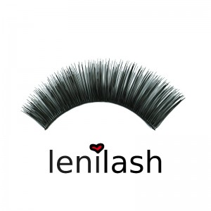 lenilash - False Eyelashes - Black - Nr.109 - Human Hair