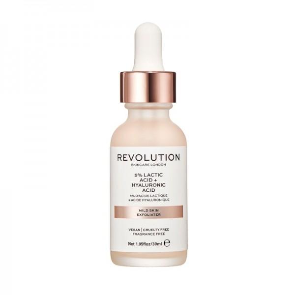 Revolution - Skincare Mild Skin Exfoliator - 5% Lactic Acid + Hyaluronic Acid