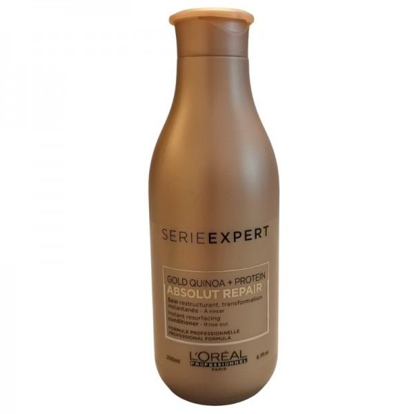 Loreal Professionnel - Serie Expert Gold Quinoa + Protein Absolut Repair Conditioner - 200ml