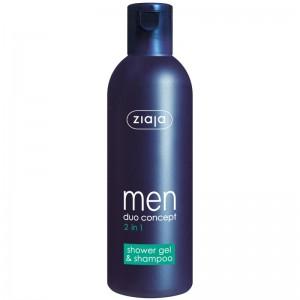 Ziaja - Duschgel + Shampoo - Men 2 in 1 Shower Gel + Shampoo