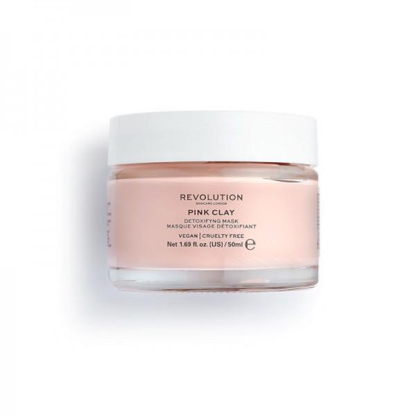 Revolution - Gesichtsmaske - Skincare Pink Clay Detoxifying Face Mask