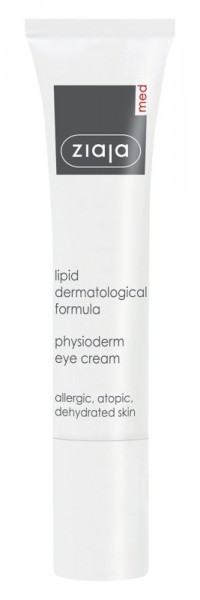 Ziaja Med - Augencreme bei empfindlicher Haut - Lipid Formula Physioderm Eye Cream