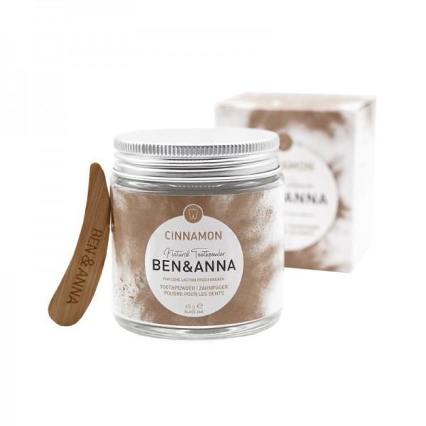 Ben & Anna - Zahnpuder - Natural Toothpowder Cinnamon
