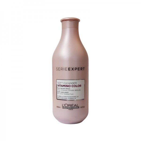 Loreal Professionnel - Serie Expert Vitamino Color Soft Cleanser Shampoo - 300ml