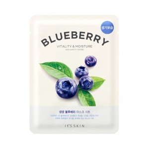Its Skin - Gesichtsmaske - The Fresh Mask Sheet - Blueberry