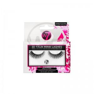 W7 - False Lashes - 3D Faux Mink Lashes - Back to Mine