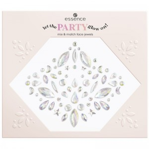 essence - Glitzersteine - let the party glow on! mix&match face jewels - 01 No Business Like Glow-Bu