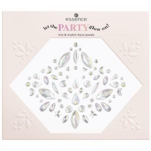 essence - Glitzersteine - let the party glow on! mix&match face jewels - 01 No Business Like Glow-Bu