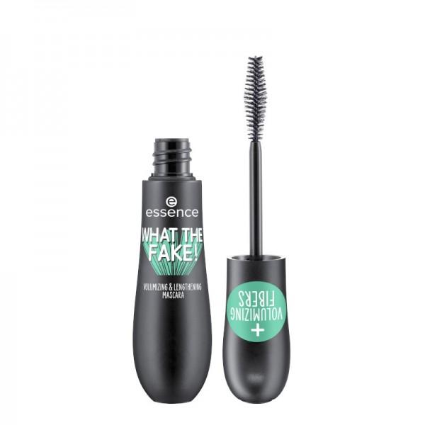 essence - what the fake! volumizing & lengthening mascara - Black 01