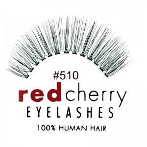 Red Cherry - Falsche Wimpern Nr. 510 Juliet - Echthaar