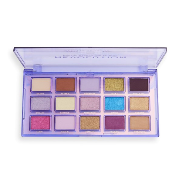 Revolution - Lidschattenpalette - Reflective Palette - Ultra Violet