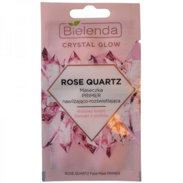 Bielenda - Gesichtsmaske - Crystal Glow Rose Quartz Face Mask Primer