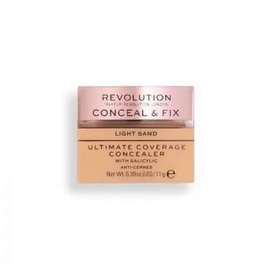Revolution - Concealer - Conceal & Fix Ultimate Coverage Concealer - Light Sand